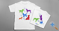 4 Legged Friends Tee