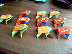 Craft Project #5: Origami Frogs